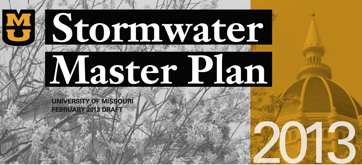 Stormwater Master Plan Tri-Fold